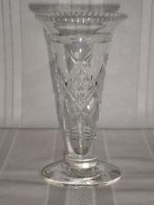 Early Deco Vintage Stuart Crystal Vase 1926 England