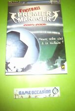 FOOTBALL PREMIER MANAGER 2005-2006 PC CD-ROM