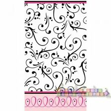 SWEET WEDDING PAPER TABLE COVER ~ Bridal Party Supplies Cloth Decorations White