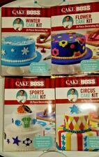New listing Cake Boss Sports Cake Kit, Circus Cake Kit, Flower Cake Kit, Winter Cake Kit