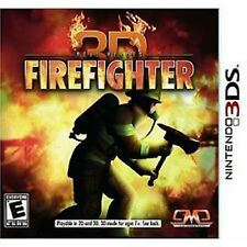 Real Heroes 3D Firefighter NEW factory sealed Nintendo 3DS Fire Fighter