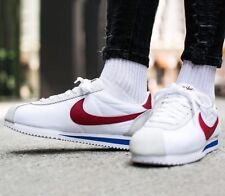 "Para Hombre Nike Classic Cortez Nylon Prem Talla 11.5 EUR 47 (876873 101), Forrest Gump"""