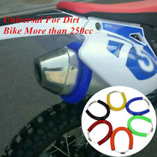 Silicone Motorcycle Exhaust Protector Cover Guard Heat Shield For most Dirt Bike