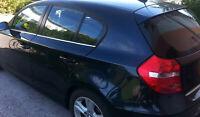 BMW 1er E87 2004-2011 Chrome Windows Frame Trim 4 Door 4 Pcs S.Steel