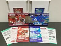 Nintendo GameBoy Advance Pokémon: Ruby Version / Sapphire Version SET JP Product