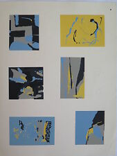 Josef Albers Original Silkscreen Folder XVIII-12/Right Interaction of Color 1963