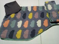 Whippet Dog Coat 55 - 60cm (Winter) Double Fleece / Collar (Your Selection)