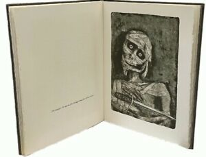 Poe: The Mask of the Red Death Frederico Castellon Lithographs SIGNED LIMITED ED