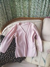 Next Cashmere Pink Wrap Style Top Size 12