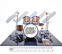 Mini Drum set allman brothers band tribute scale model 1:4 miniature collectible