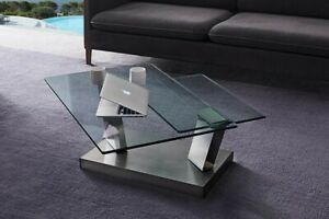 Gainsville Glass Top Coffee Table