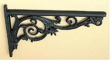 PAIR OF LARGE 62.5cm/39.5cm ANTIQUE,VINTAGE CAST IRON WALL SHELF/SINK BRACKETS