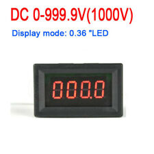 4 Stellen DC 0-1000V Digital Voltmeter Panelmeter LED Spannungsmesser voltage