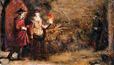 Guy Fawkes 1870 by Charles Gogin 7x4 Inch Print p