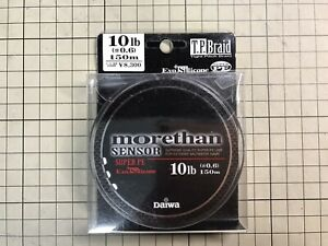 Daiwa Morethan Sensor +SI PE Line #0.6 150m Seabass Game Special White Color