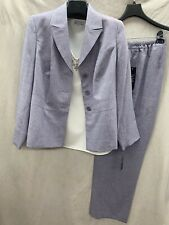 """LESUIT PANT SUIT/SIZE 24W/INSEAM 32""""/NEW WITH TAG/TANK NOT INCLUDED/LAVENDER"""