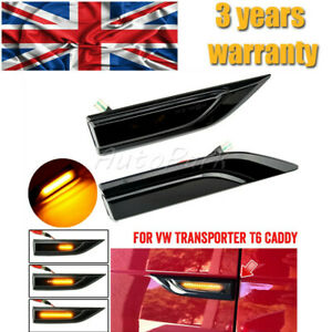 For VW T6 TRANSPORTER SEQUENTIAL DYNAMIC LED SIDE REPEATER SIGNAL INDICATORS C