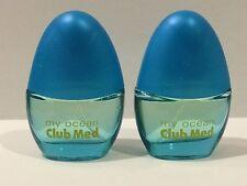 Lot Of 2 Club Med My Ocean For Women EDT Perfume Spray 0.33 oz each Travel size