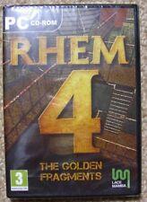 Rhem 4 The Golden Fragments New Sealed - PC Adventure Game