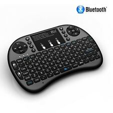 Rii i8+ BT Mini Wireless Bluetooth Backlight Touchpad Keyboard with Mouse