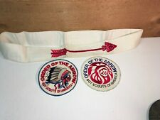 Vintage OA Order Of The Arrow Boy Scout of America Patches Flap Body Sash Lot
