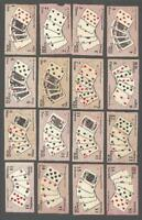 1924 ITC C27 Poker Hands New Series Tobacco Cards Complete Set of 52