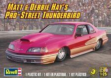 Revell Monogram Matt & Debbie Hays Pro Street Ford T-Bird plastic model kit 1/25