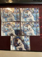 2020 Topps Chrome Update GAVIN LUX #U-54  RC Rookie Debut Los Angeles Dodgers X5