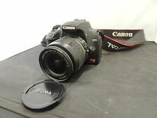 Canon Rebel XS Digital Camera EOS 10.1MP EFS 18-55 mm Lens DSLR Works Great