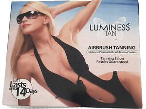 LUMINESS Airbrush Tanning System.