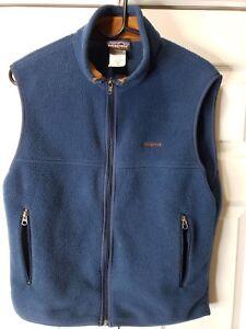 Patagonia Men's S Synchilla Fleece Vest Zip Front Jacket