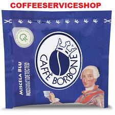 150 CIALDE CAFFE' BORBONE BLU (38 mm) IN CARTA FILTRO -ORIGINALE-