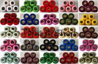 5 Ancora Perle Cotone Filo per Lavoro a Uncinetto Gomitoli (Misura Passo N°8 -