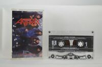 ANTHRAX I'm The Man CASSETTE TAPE EP MEGAFORCE WORLDWIDE / ISLAND RECORDS USA K7