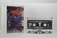 ANTHRAX I'm The Man CASSETTE TAPE EP MEGAFORCE WORLDWIDE / ISLAND RECORDS USA K7