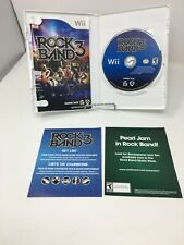 Rock Band 3 (Nintendo Wii, 2010, Tested and Complete)