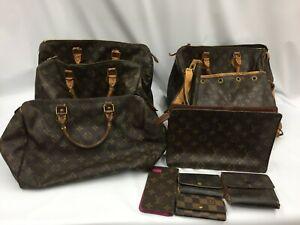 "Auth Louis Vuitton Various Bag Wallets & small Items Junk 10 Set1B170240n"""