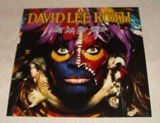 Hot For Teacher David Lee Roth Van Halen Promotional Poster 1985