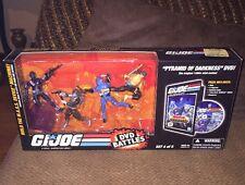 Hasbro Gi Joe DVD Battles Pyramid Of Darkness Box Set MASS Device 25th QuickKick