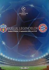 Programma UEFA CL 2008/09 Steaua Bucuresti-il Bayern Monaco