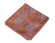 Lord R Colton Masterworks Pocket Square - Autumn Copper Pink Silk - $75 New