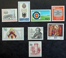 Sello BERLIN (ALEMANIA) 8 sellos de 1979 n (Cyn28) Stamp