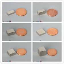 N52 Multiple Size 127mm 12 Length Rare Earth Neodymium Block Magnets