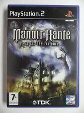 COMPLET jeu DISNEY LE MANOIR HANTE ET LES 999 FANTOMES sur playstation 2 PS2 TBE