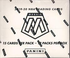 2019/20 Panini Mosaic Cello Basketball Factory Sealed Box 12 Packs Morant Zion ?