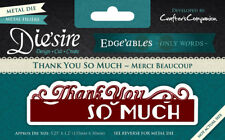 Crafter's Companion Edge'ables Only Words Thank You So Much