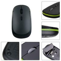 Slim Wireless Mouse Silent bluetooth Mice Adjustable For Laptop PC Q2A7