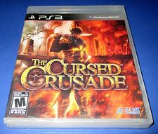 The Cursed Crusade PS3 - Factory Sealed!! Free Shipping!!