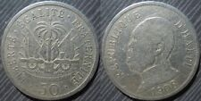 "HAITI  #  50 centimes 1908 "" President Nord Alexis """