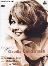 Dvd Claudia Cardinale - La ragazza di Bube + Gli indifferenti + Le pistolere NEW